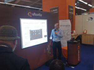 Canonical en pleine conférence sur Ubunut