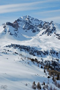 33- Les Alpes vues de Valfréjus