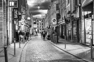 Le vieux Lille, le soir.