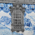 20- Porto noir et blanc couleur